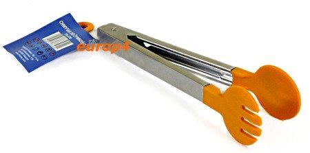 Chwytak Tiross TS 379 silikonowy metalowy do żywności łapka