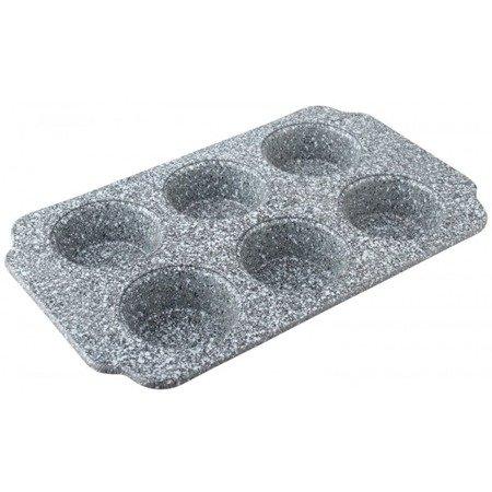Forma Klausberg KB 7381 marmurowa blacha do piecznia 6szt muffinek