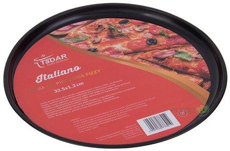 Forma do pieczenia pizzy Tadar Okrągła tacka blaszka