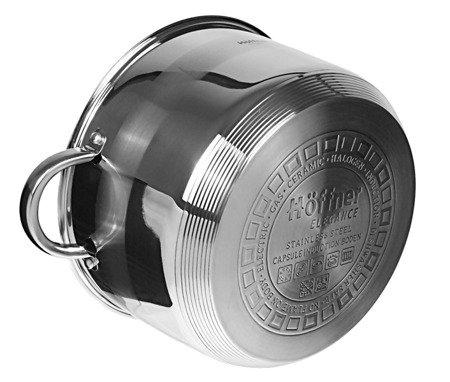 Garnek Hoffner HF 4465 z pokrywką 6.5 L