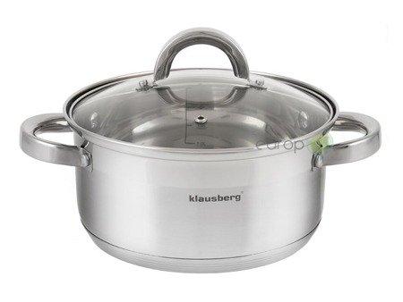 Garnek Klausberg KB 7144 24 cm garnki do gotowania na parze 5 L