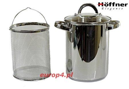 Garnek do gotowania szparagów Hoffner HF 4483 + Sitko