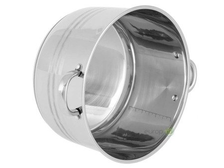 Garnek stalowy Edenberg EB 3023 pojemność 20.3 L