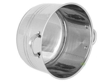 Garnek stalowy Edenberg EB 3024 pojemność 23.8 L