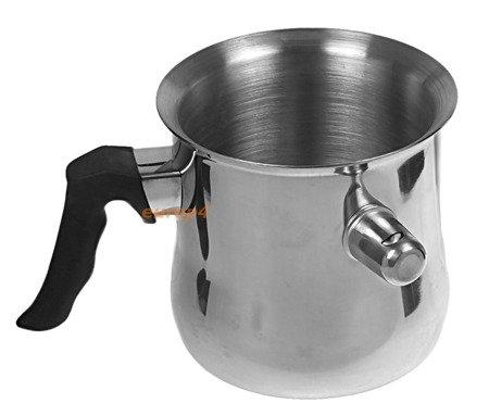Garnek stalowy do gotowania mleka z gwizdkiem 1.5L Hoffner HF 717