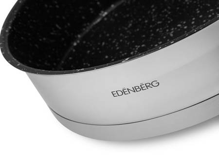 Garnki Edenberg EB 4048 Zestaw garnków stalowych indukcyjnych