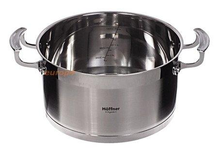Garnki stalowe Hoffner HF 9945 / HF 9977 Zestaw garnków