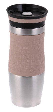 Kubek Hoffner HF 7540 termiczny termos pojemnik bidon 380 ml brązowy