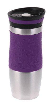Kubek Hoffner HF 7540 termiczny termos pojemnik bidon 380 ml fioletowy