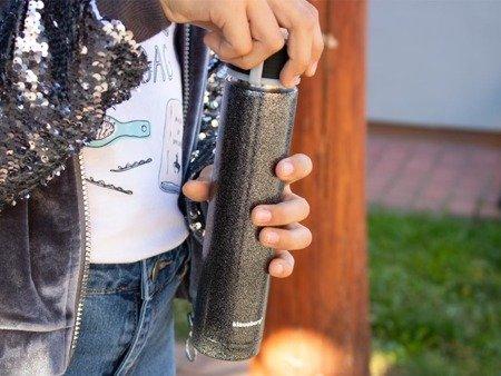 Kubek termiczny Klausberg KB 7337 termos bidon 250 ml czarny
