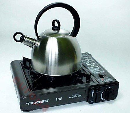 Kuchenka turystyczna Tiross TS 260 gazowa polowa gaz GRATIS