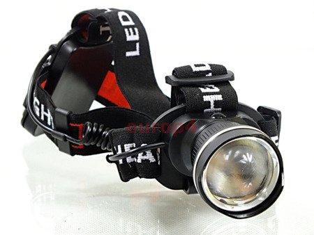 Latarka Tiross TS 1102 lampka czołowa czołówka na głowę CREE 9W