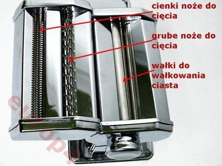 Maszynka Brunhoff BH 4567 / HF 1305 do krojenia ciasta makaronu tytoniu ziół