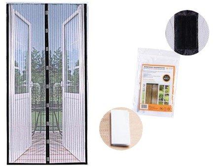 Moskitiera magnetyczna na drzwi Tadar 100x220cm siatka biała