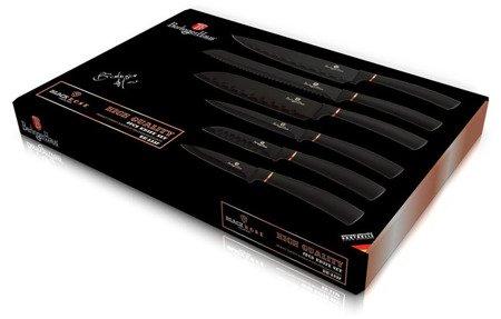 Noże stalowe BerlingerHaus BH 2337 BLACK ROSE
