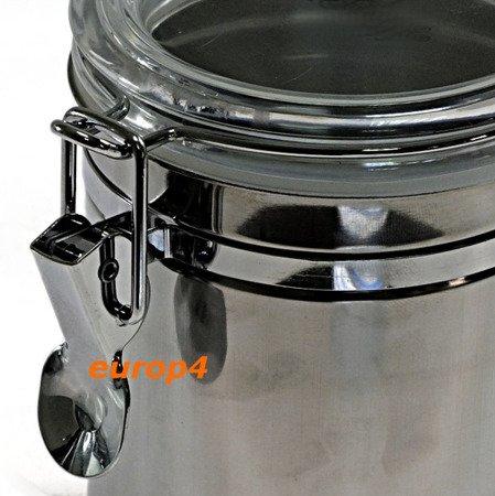 Pojemniki EH 021 HERMETYCZNE przyprawy Mąka Cukier X4