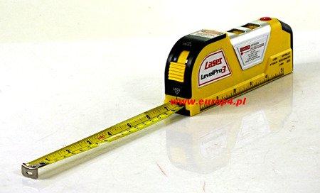 Poziomica Laserowa HK 782 Level Pro3 miarka laser metr