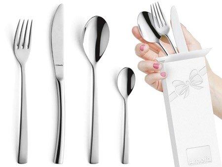 Sztućce obiadowe Amefa Aurora 9065 24 elementy dla 6 osób 18/10