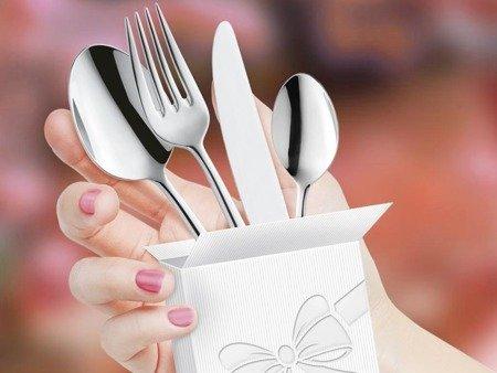 Sztućce obiadowe Amefa Carlton 1050 4 elementy dla 1 osoby 18/0