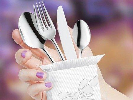 Sztućce obiadowe Amefa Jewel 8010 30 elementów dla 6 osób 18/10
