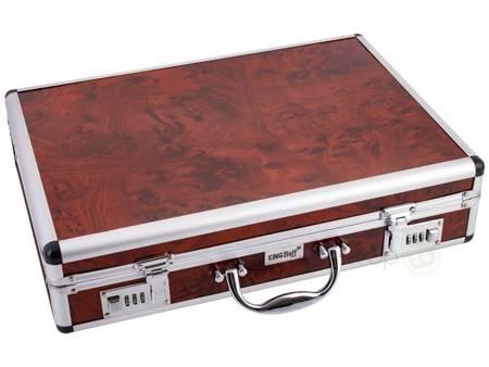 Sztućce w walizce KingHoff EH 3554 72 elementy 12 osób zestaw widelce+łyżki+walizka satyna