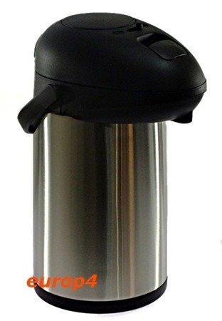 Termos Metlex MX 7398 3,5 lit z pompką konferencyjny pojemnik stalowy