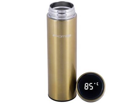 Termos Smart Kamille KM 2036 złoty kubek termiczny bidon 400 ml