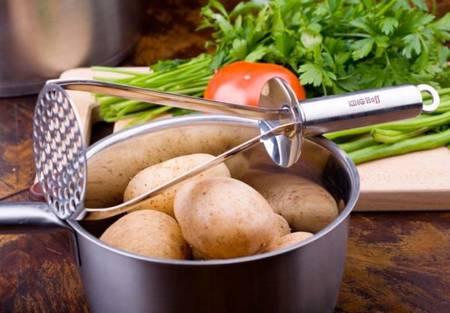 Tłuczek do ziemniaków KingHoff KH 3396 ubijak do kartofli