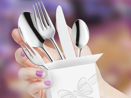 Widelczyk deserowy do restauracji Amefa Metropole 1170 do ciasta 1 szt na wesele