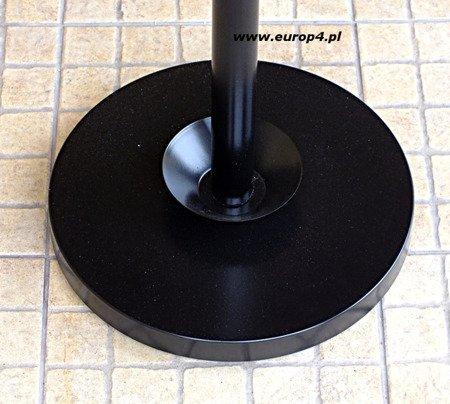 Wieszak stojak na ubrania Metlex MX 3078 parasol garderoba czarny