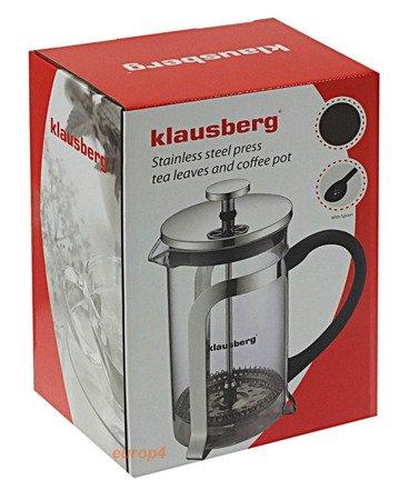 Zaparzacz szklany do herbaty Klausberg KB 7151 kawy 350 dzbanek