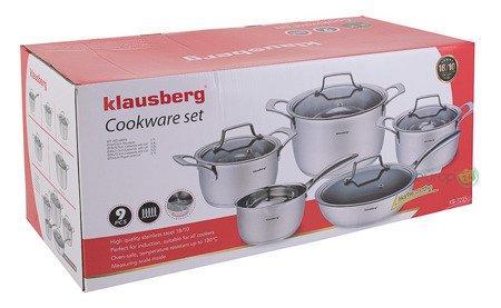 Zestaw garnków stalowych Klausberg KB 7235